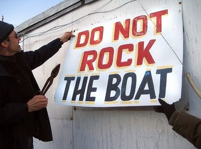 Don't Rock the Boat, Either
