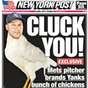 "Yankees Avoid ""Chicken"" Tag"