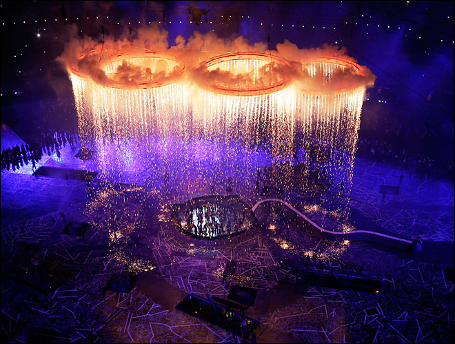 Olympic Opening Ceremony… and We're Underway!