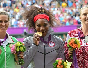 Serena Williams Takes Gold