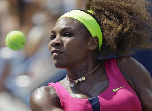 Serena Not Slowing Down