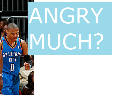 Thunder Win 12th in a Row; Westbrook Stays Angry
