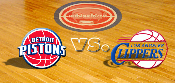 7:30 PM ET TONIGHT = CLIPPERS & PISTONS