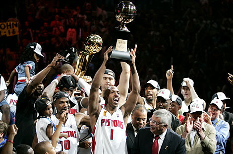 Who Won the 2004 NBA Finals?