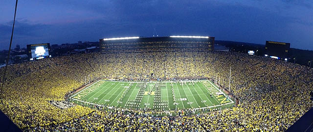 Michigan Defends Big House