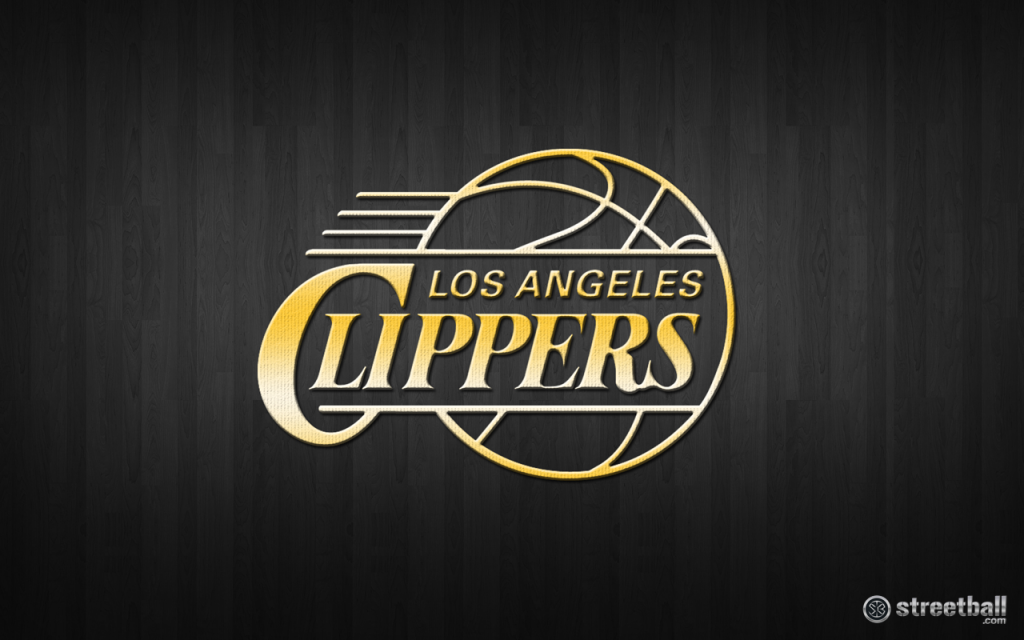 NBA_Los_Angeles_Clippers_Logo_Basketball_Wallpaper