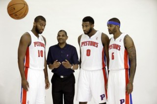 Pistons Make It Three in a Row