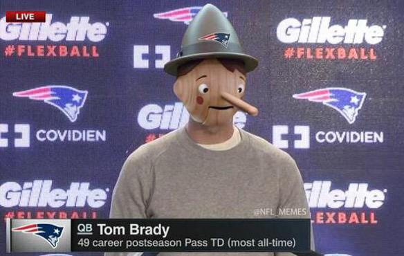 Lacking Some Air in Your Balls, Brady?