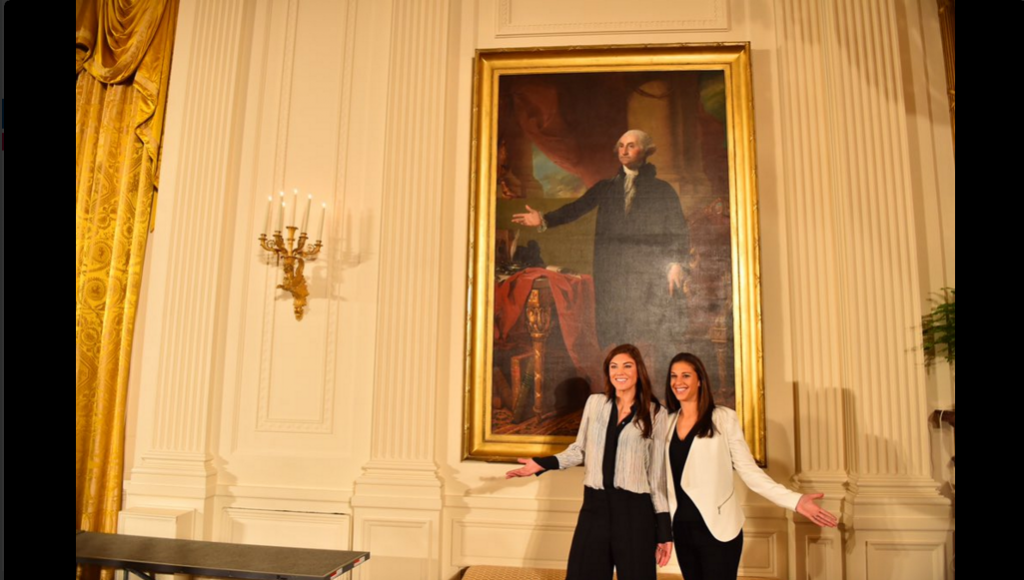 World Champion U.S. Soccer Team Honored at White House