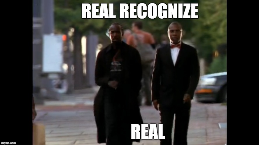 "Omar & Brother Mouzone ""The Wire"""