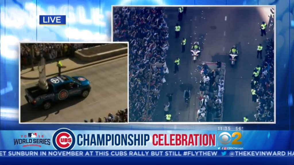 Cubs Championship Parade Pictures