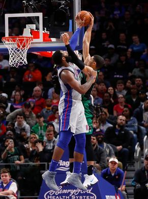 Rested Pistons Take Down Celtics